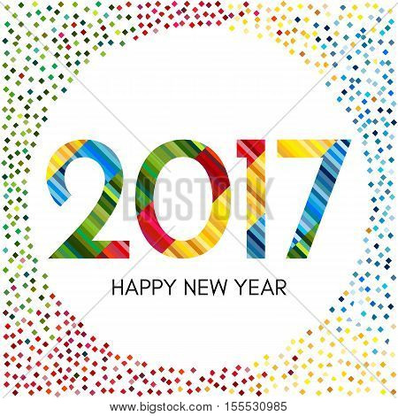 Happy New Year 2017 Vector & Photo (Free Trial) | Bigstock