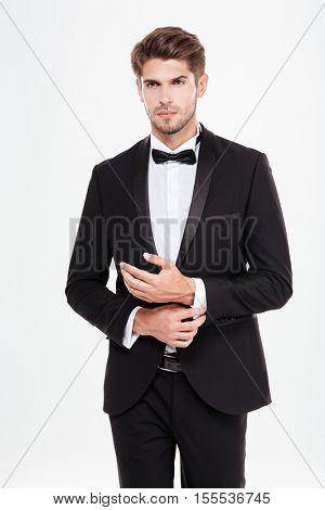 Businessman. looking at camera