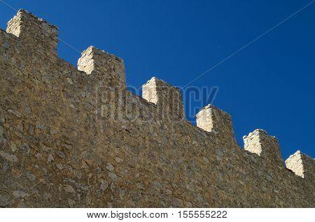 Gormaz Castle in Soria Province, Casdtilla Leon, Spain.