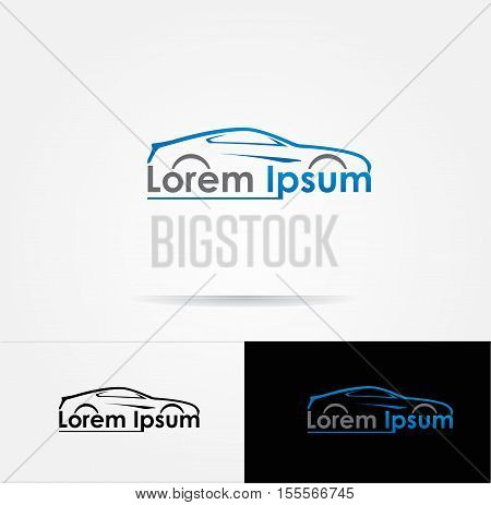 Icon for automotive vector business identity logo design