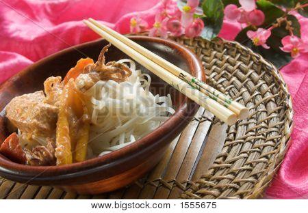 Thai Fish Curry Dish