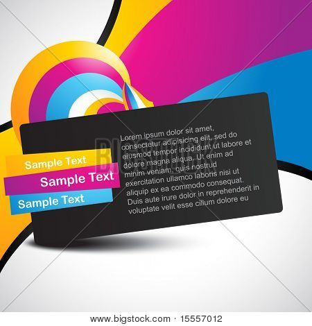 beautiful colorful vector eps10 background design poster