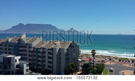 Seascape beach sunset Africa Cape Town Holiday Vacation water sea sand