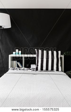 Comfortable White Bed