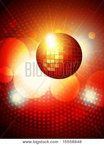 abstract party disco background design