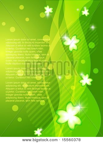 shiny st. patricks day design background