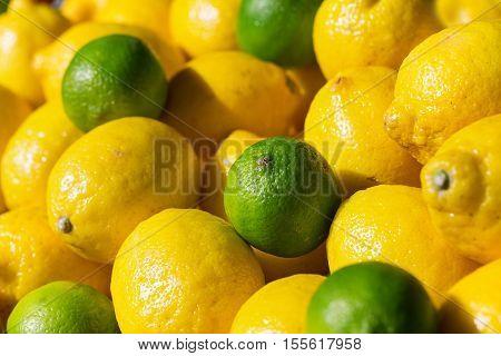 Fresh Lime Anf Lemons On Sale