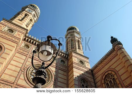 Dohany Street Synagogue also known as The Great Synagogue in Budapest