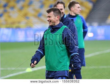 Training Session Of Ukraine National Football Team In Kiev
