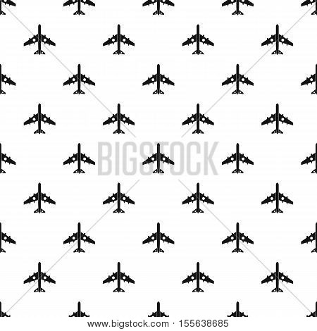 Jet plane pattern. Simple illustration of jet plane vector pattern for web
