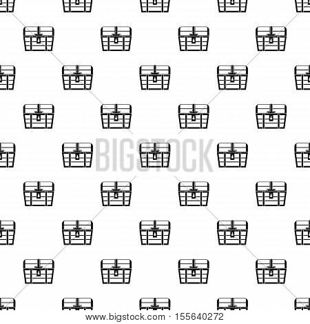 Dower chest pattern. Simple illustration of dower chest vector pattern for web