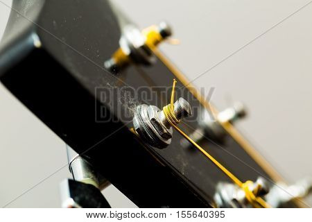 Acoustic Guitar Detail