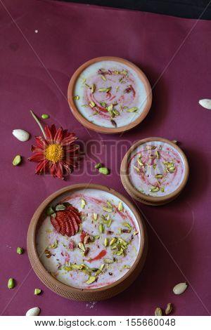 Chawal Ki Kheer /Phirni / Milk and rice Pudiing