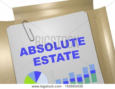 Absolute Estate Concept
