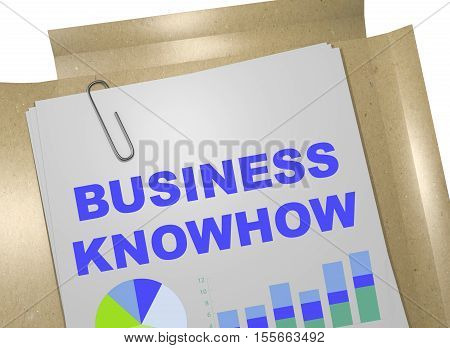 Business Knowhow Concept