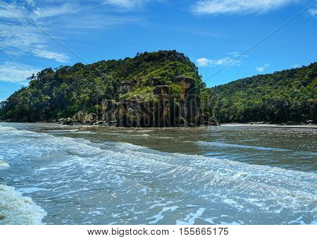 Tajor Beach In Bako National Park