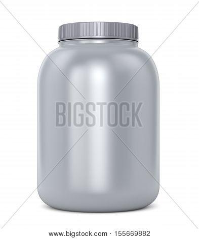 Gray Protein Jar