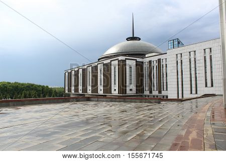 Central Museum of the Great Patriotic War. Victory Park. Poklonnaya Hill