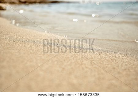 White sea beach Sand or Desert for background and texture