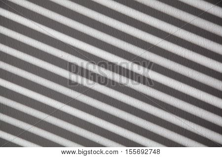 Stripes On The Wall From Blinds