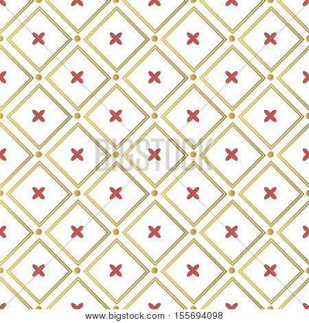 Christmas background, seamless tiling, great choice for wrapping paper pattern. Winter merry christmas pattern holiday decoration design. Traditional christmas pattern fabric ornament vector.