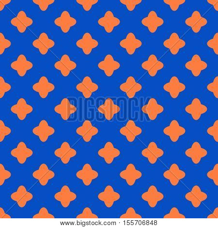 Cross geometric seamless pattern. Fashion graphic background design. Modern stylish abstract texture. Color template for prints textiles wrapping wallpaper website. Stock VECTOR illustration
