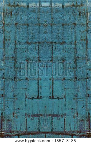 Futuristic Abstract Grunge Geometric Modern Pattern