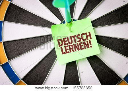 Learn German (in German)