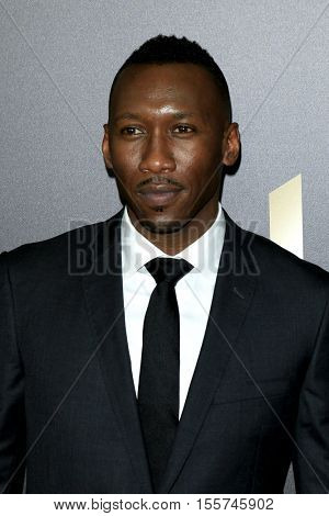 LOS ANGELES - NOV 6:  Mahershala Ali at the 20th Annual Hollywood Film Awards  at Beverly Hilton Hotel on November 6, 2016 in Beverly Hills, CA