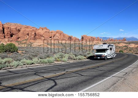 Rv In The Usa
