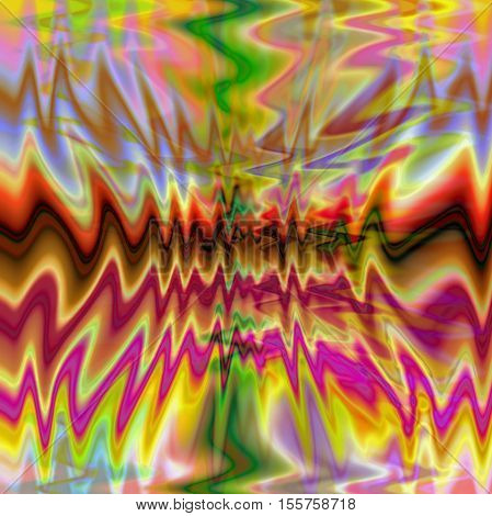 Abstract coloring background of the pastels gradient with visual wave and pinch effects