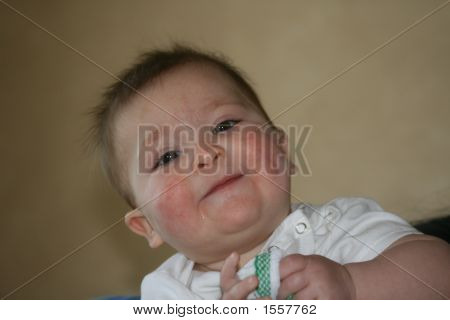Young Girl With Bib