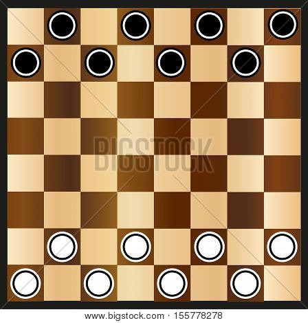 Chessboard and checkers , chessboard , game