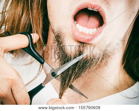 Fear Of Cutting Beard