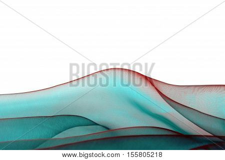 fabric texture empty space border frame background