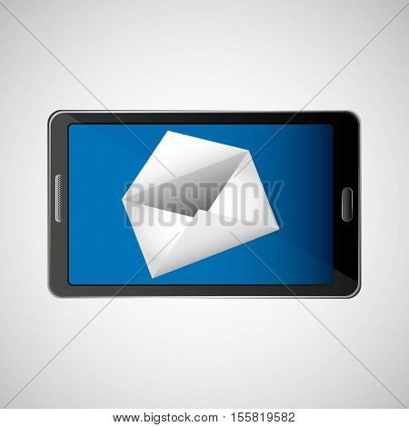 concept email newsletter icon vector illustration eps 10