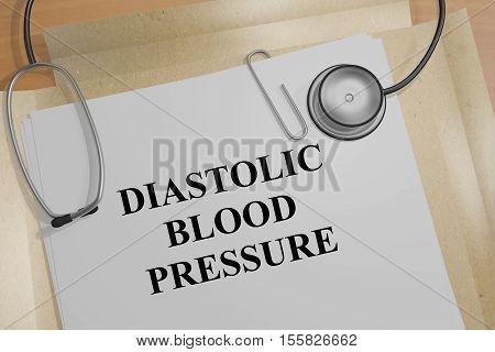 Diastolic Blood Pressure - Medical Concept