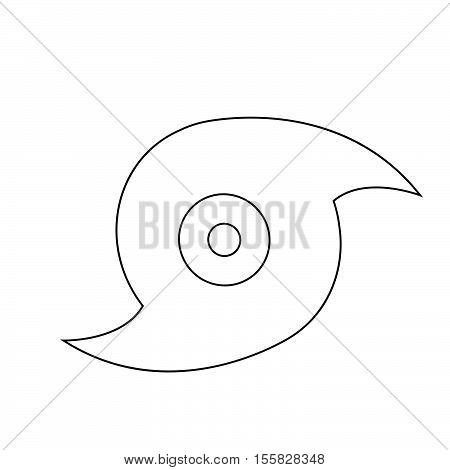 an images of Hurricane icon illustration design