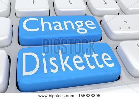 Change Diskette Concept