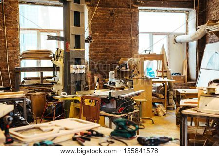 Workplace of cabinetmaker