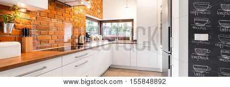 Bright Modern Minimalist Kitchen