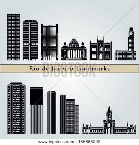 Rio De Janeiro V2 Landmarks