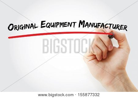 Hand Writing Original Equipment Manufacturer