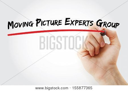 Hand Writing Moving Picture Experts Group