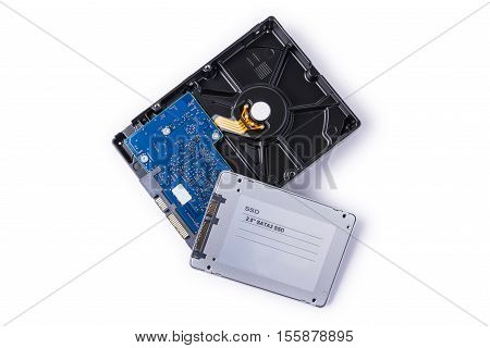 Partition recovery ssd
