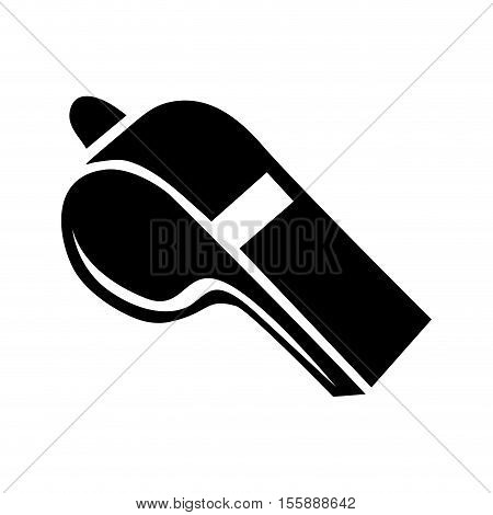 whistle blow icon image vector illustration design