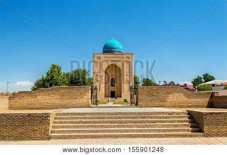 View of Bibi-Khanym Mausoleumin in Samarkand - Uzbekistan. Built in 15th century