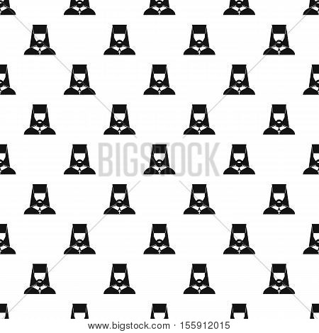 Orthodox priest pattern. Simple illustration of orthodox priest vector pattern for web