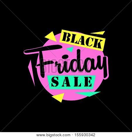 Black friday sale sticker or Black friday sale banner. Black friday special offer tag. Black friday sale badge and tag. Isolated vector clip art