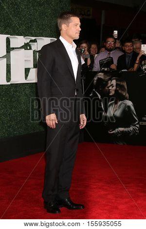 LOS ANGELES - NOV 9:  Brad Pitt at the